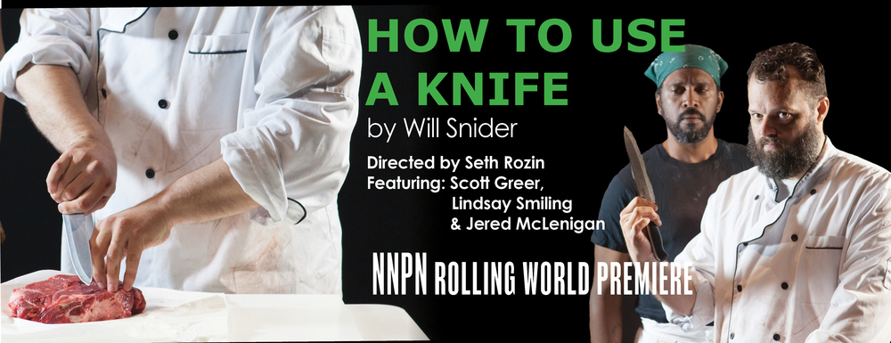 HOW TO USE A KNIFE by WILL SNIDER   May 26 - June 18