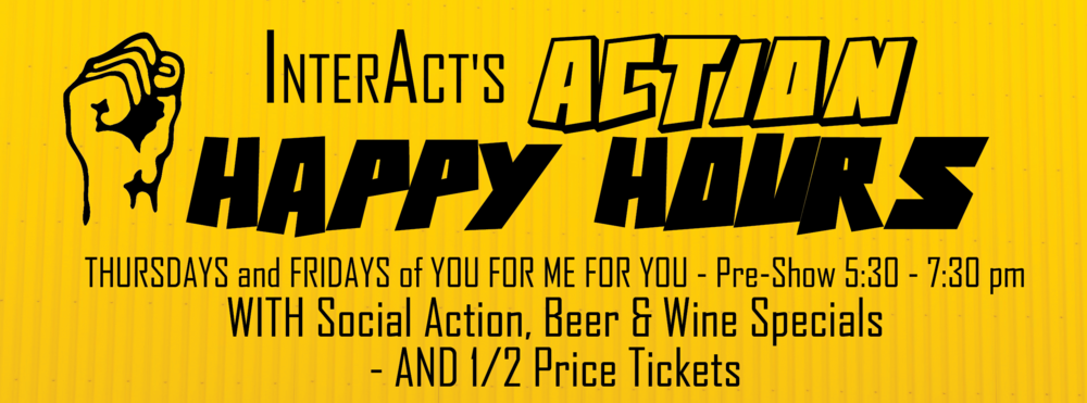 Drink and DO GOOD! HAPPY HOURS for YOU FOR ME FOR YOU benefit HAIS PA, Asian Arts Initiative, Society of Young Korean Americans, and more!