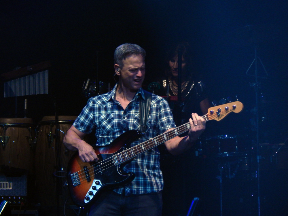 Gary Senise on bass