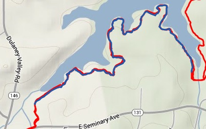 First Singletrack