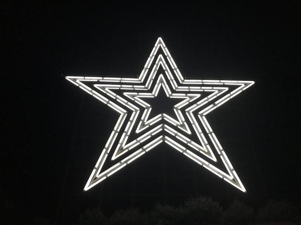 The Roanoke Star on Mill Mountain