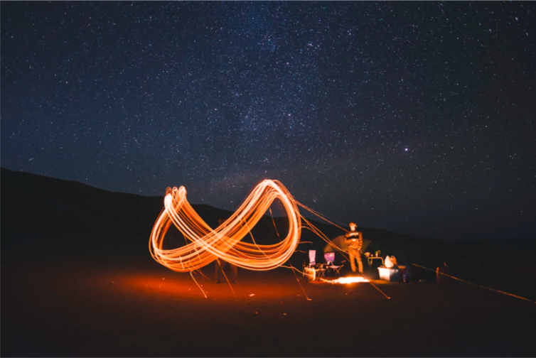 The infinity symbol implies most subtly the interplay between right and left brain. When this interplay is robust, we reach our potential as conduits of source much more readily. Photo by Freddie Marriage on Unsplash.