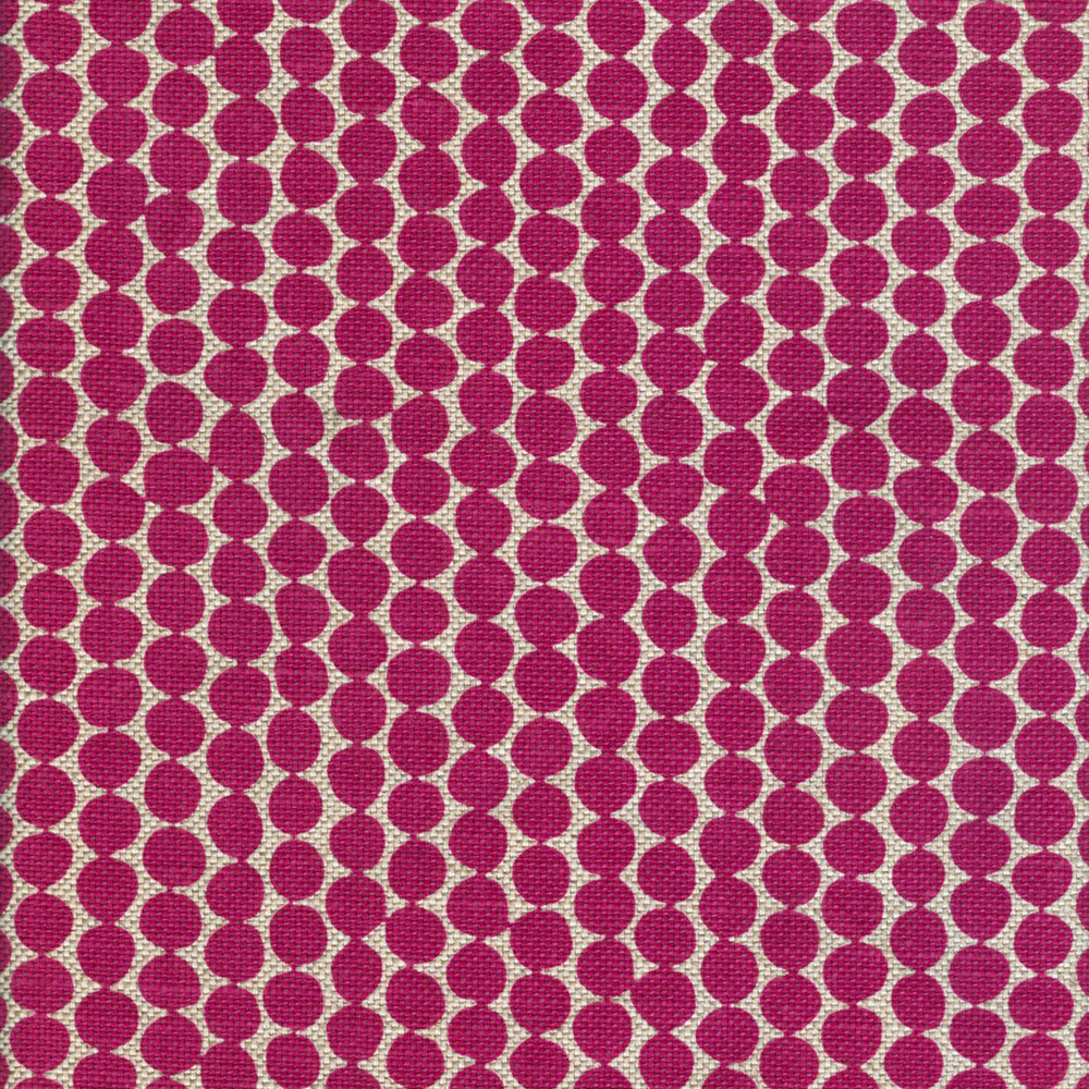 Magenta Beads on Wheat