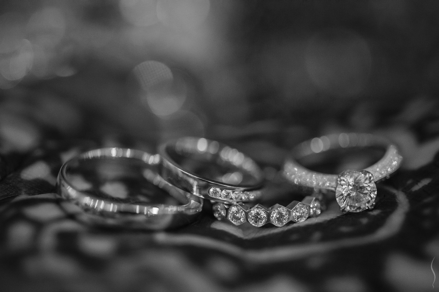 weddings sports wedding bands Wedding bands and engagement rings over the bride s Henna stained hand in SIA Sports Club