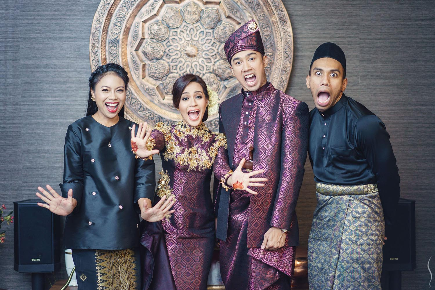 what to wear for malay wedding