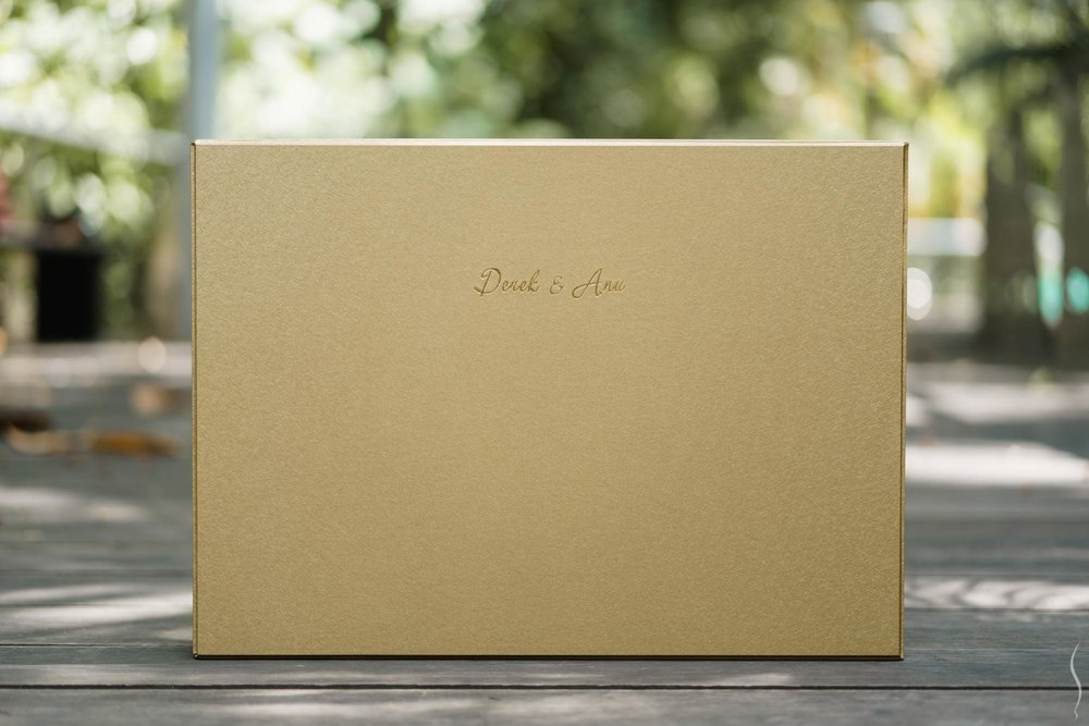 Gold Album Box