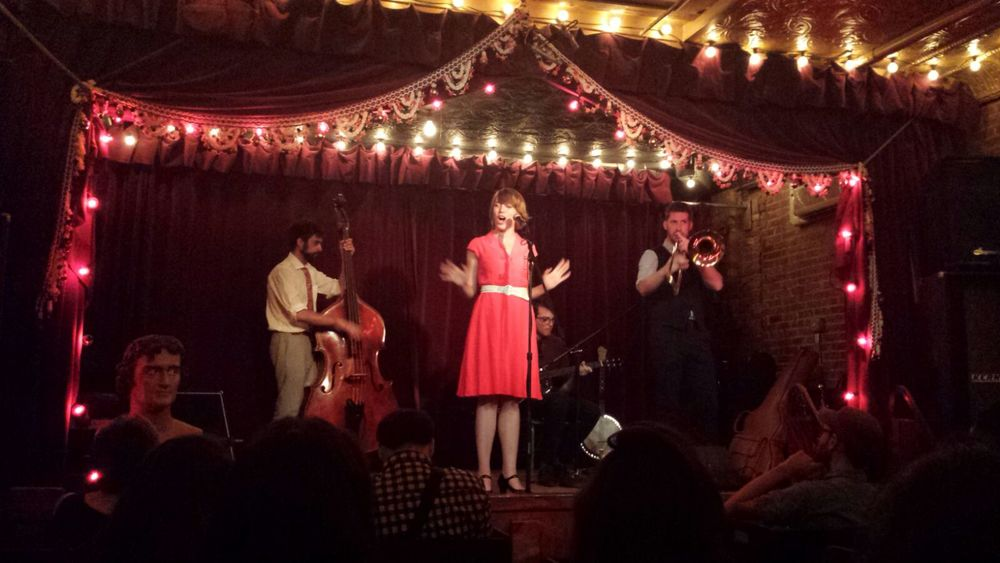 The Jalopy Theatre, NYC
