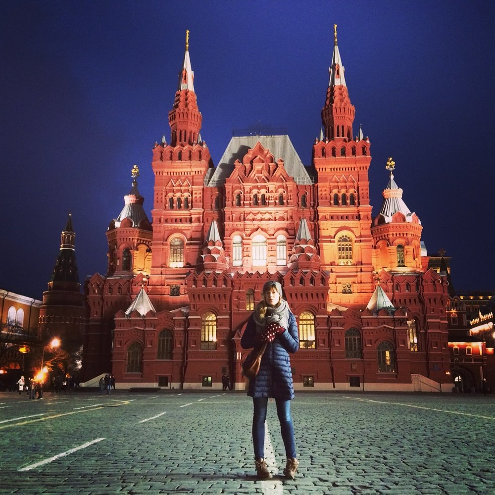State History Museum in Moscow, Russia