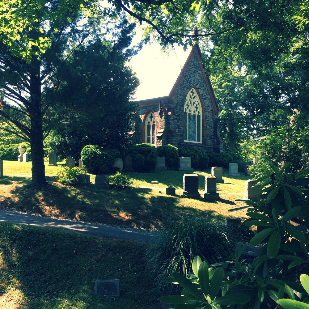 Oak Hill Cemetery in Washington, DC