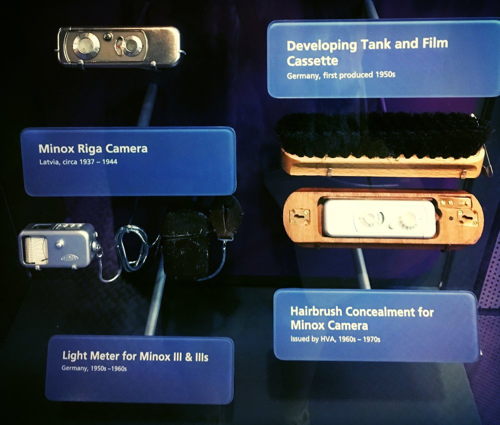 Early Spy Cameras