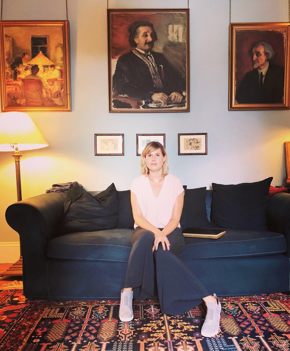 Ann Slater Pasternak's Home in Oxford, England