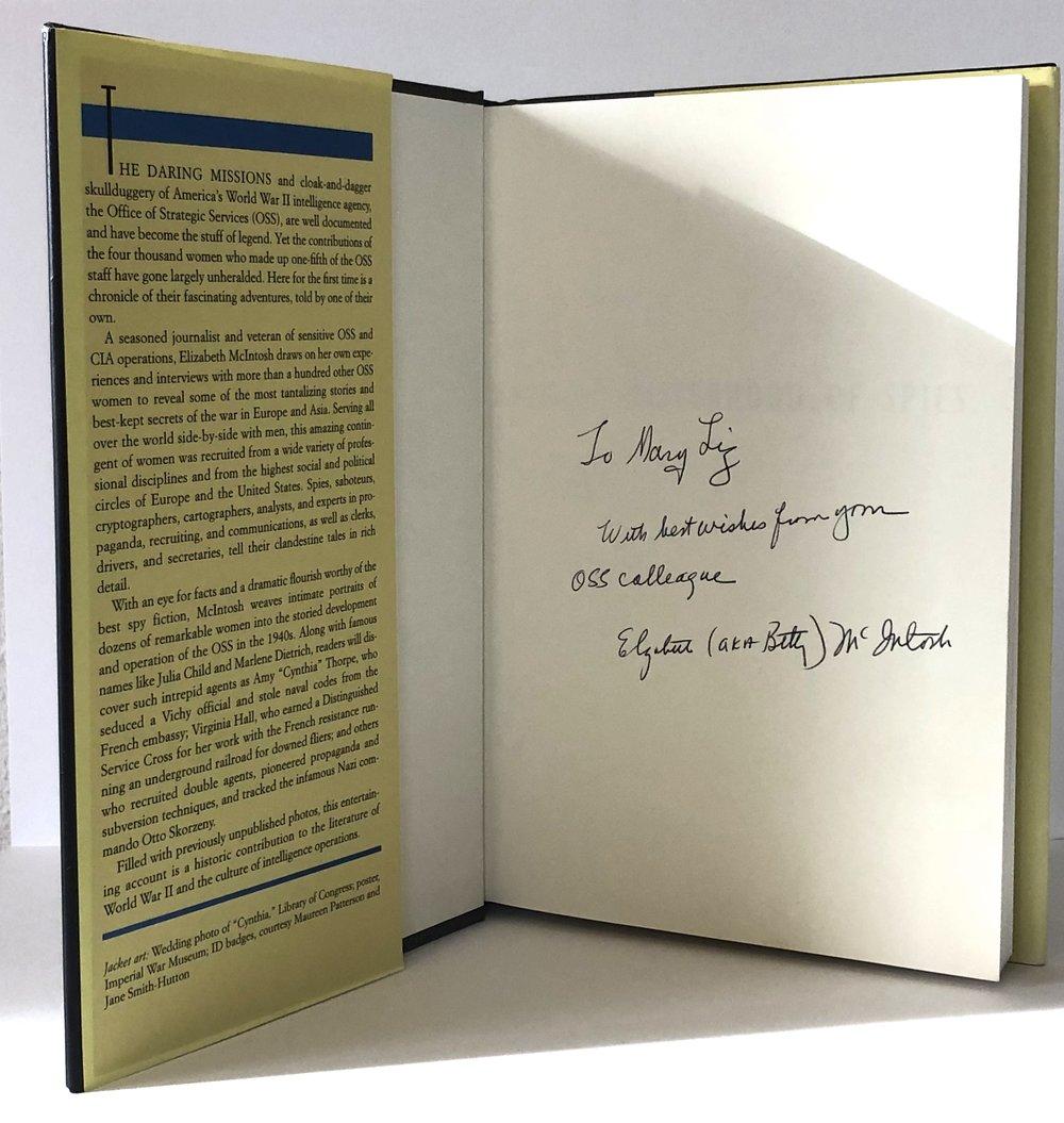 1st Edition Sisterhood of Spies