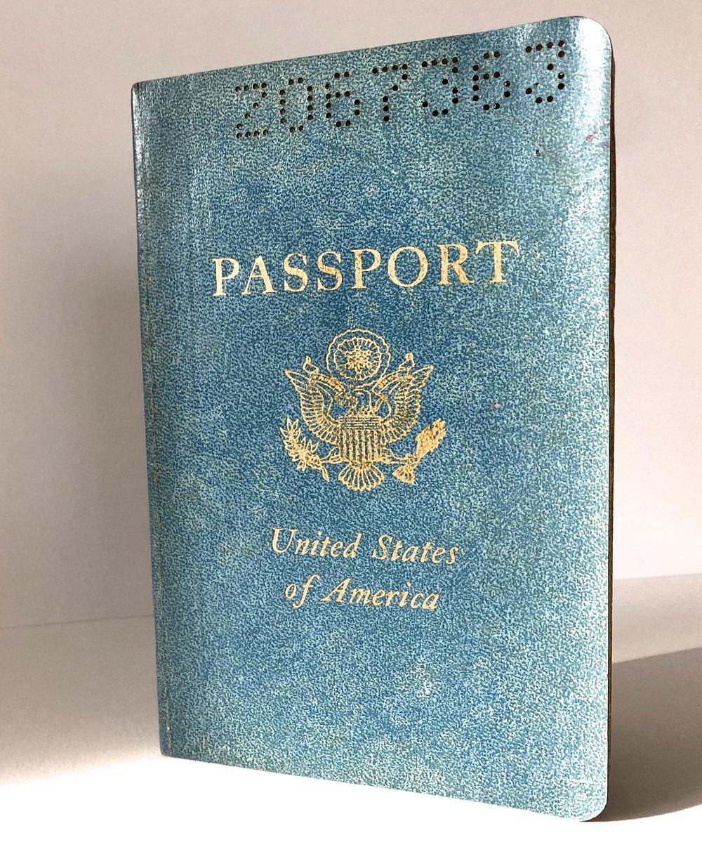 Elizabeth Heppner's Actual U.S. Passport