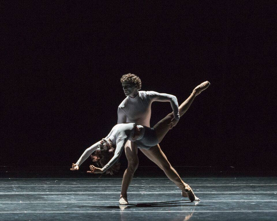 Photo: Ommi Pipit-Suksun and Kendall Teague in Yuri Zhukov's User's Manual