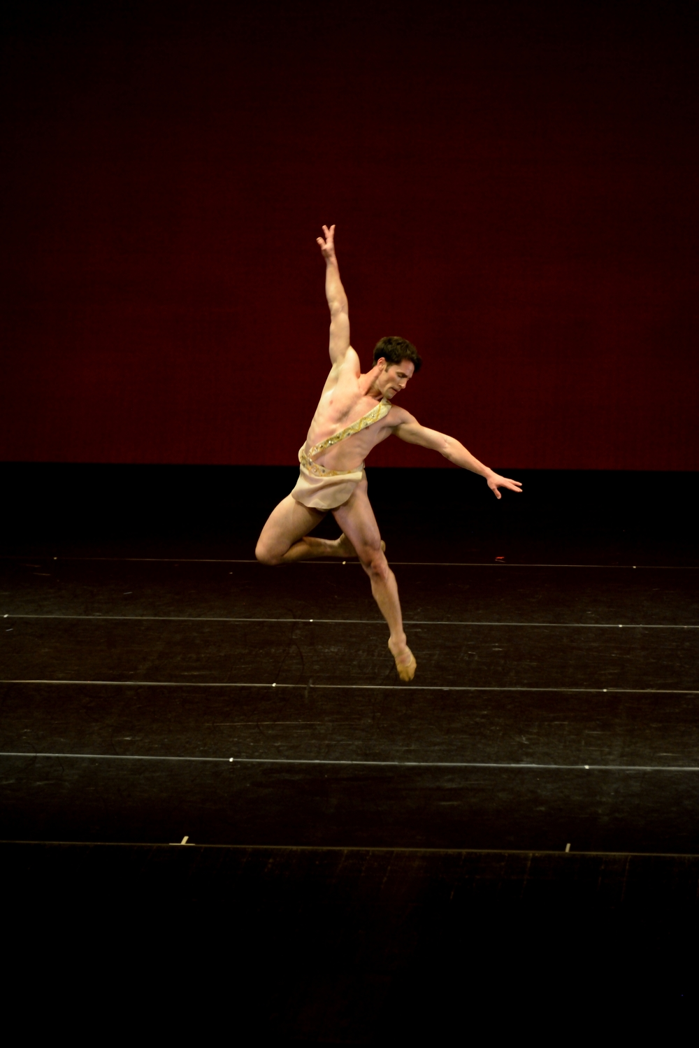 "Maykel Solas in the Pas de Deux from ""Diana and Acteon"""