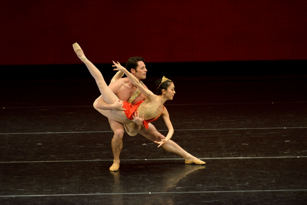 "Junna Ige and Maykel Solas in the Pas de Deux from ""Diana and Acteon"""