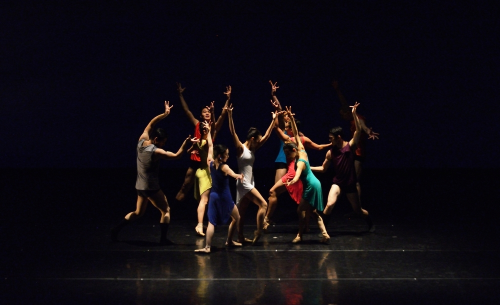 Photo by David Eck of SVB in Annabelle Lopez Ochoa's Prism, inspired by Keith Jarrett's Köln Concert.