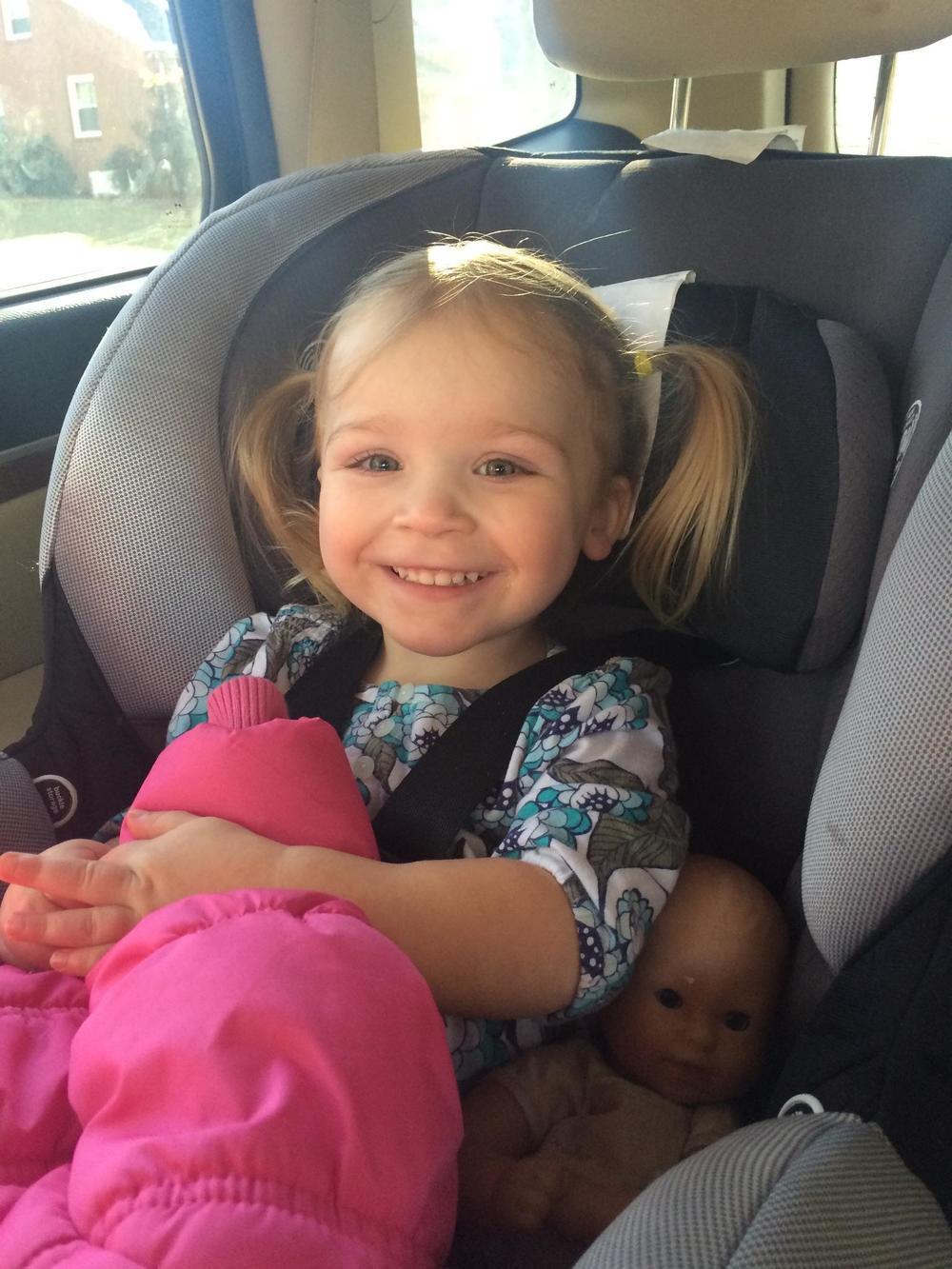 jeannie car seat