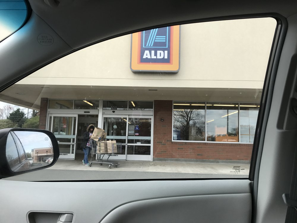 angel at aldi