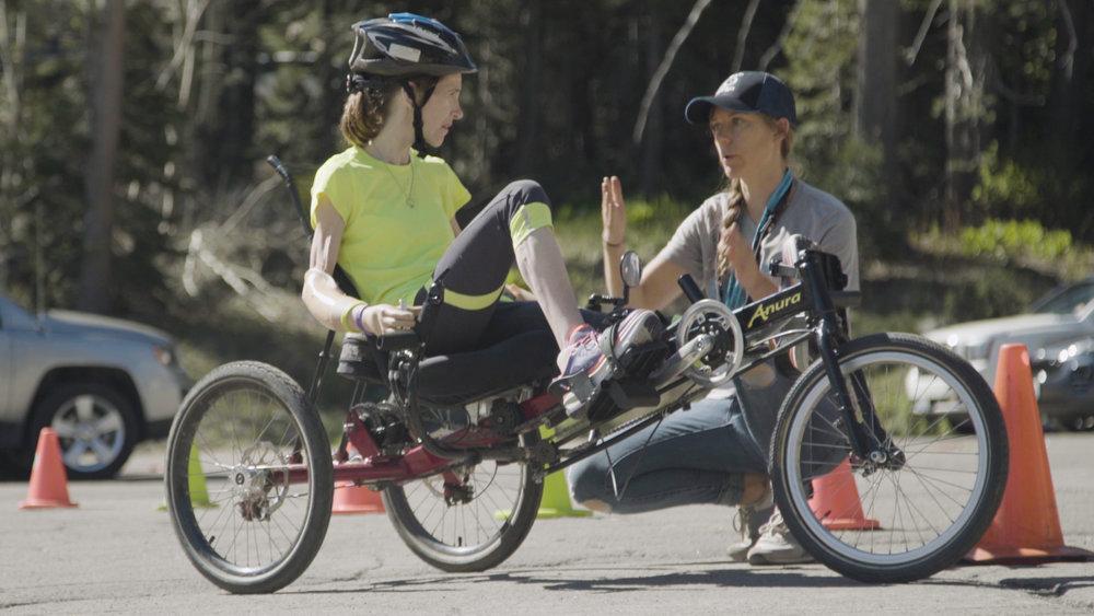 amputee biking