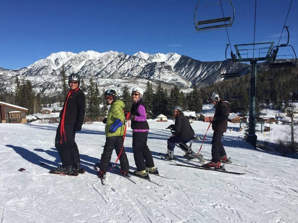 amputee skiing