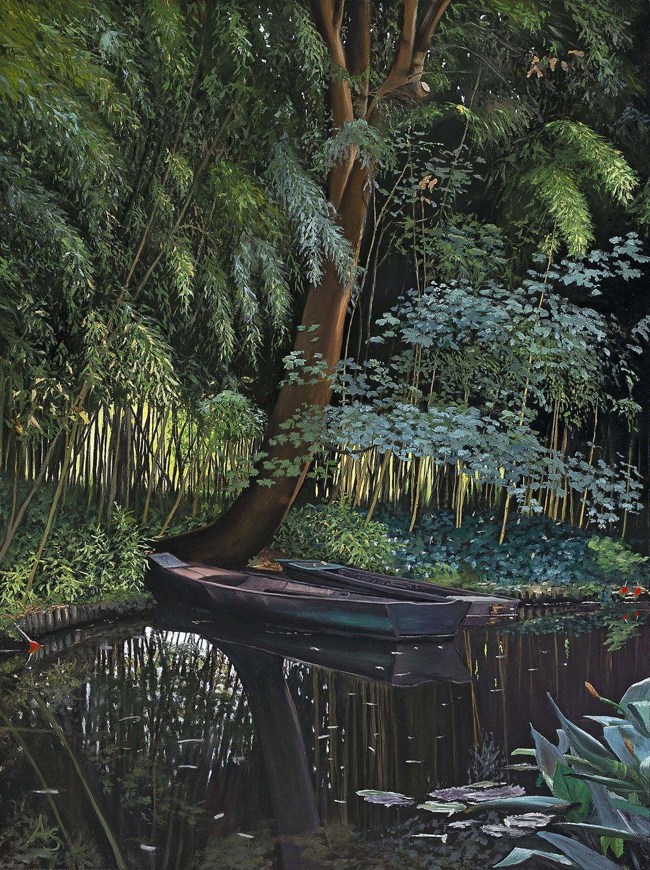 Monet's Bateau