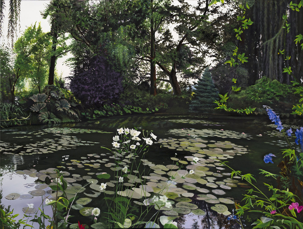 Monet's tranquility