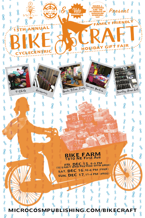Link to BikeCraft's site--I'm not listed as a vendor because I enrolled after the official deadline. But I promise I'll be there!