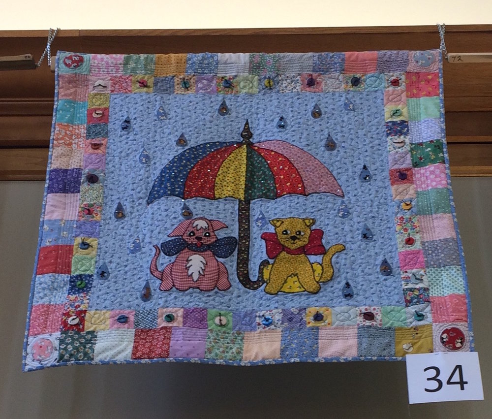 It's Raining Calico Dogs and Gingham Cats