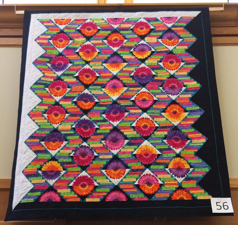 Jessica's Floral Zigzag, B&W Borders