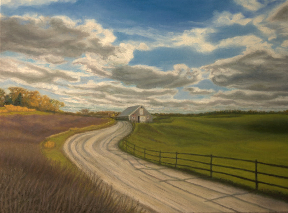 Autumn at the Farm  18 x 24  $345