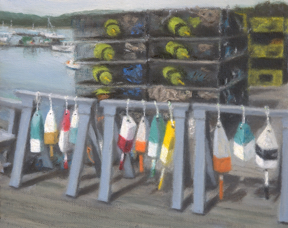 Buoys on the Dock
