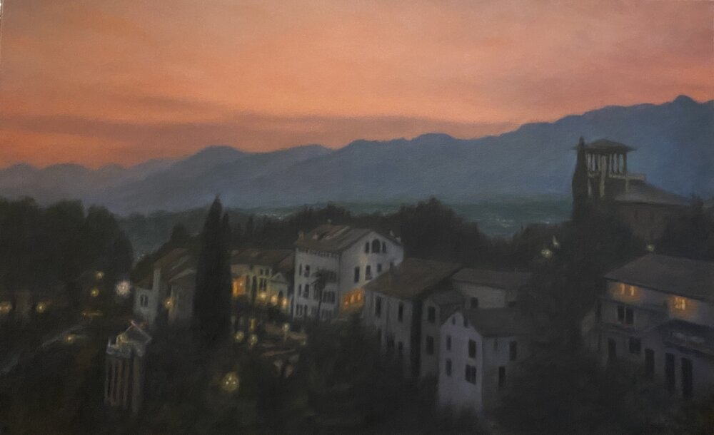 Sunset in Asolo