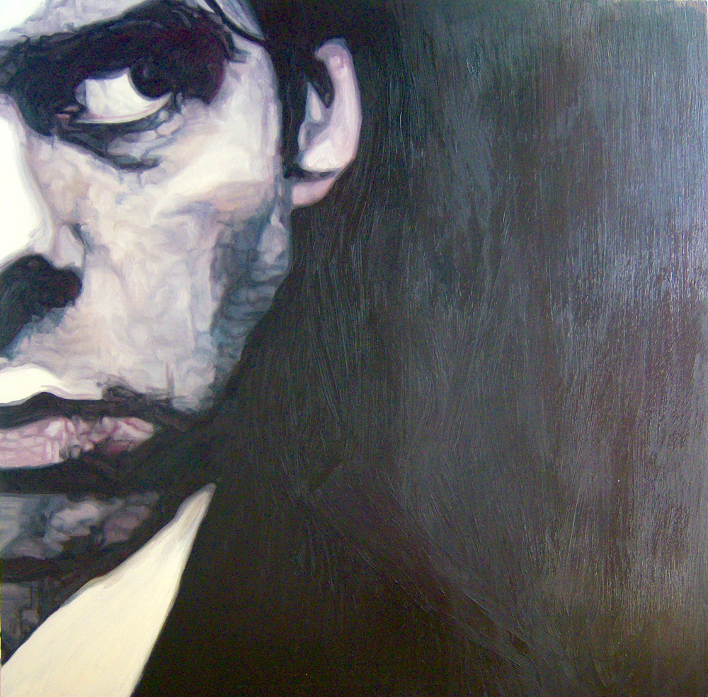 "Nick Cave 5, oil, 48"" x 48"" - by Bly Pope"