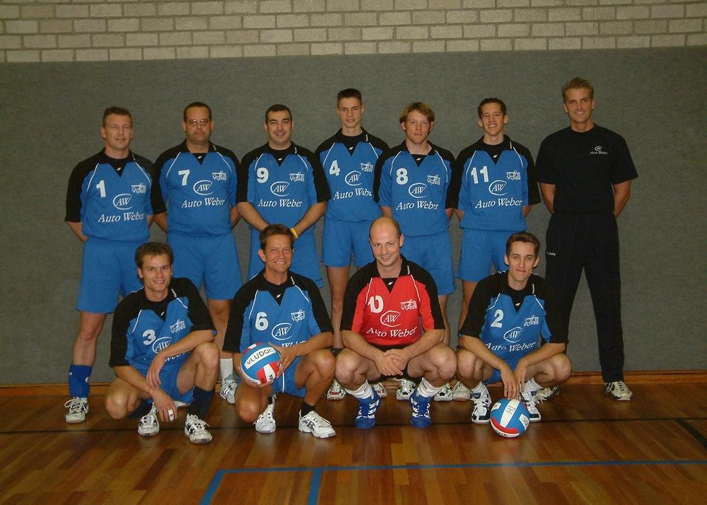 Heren 2 Vludoc '98 Seizoen 2004/2005