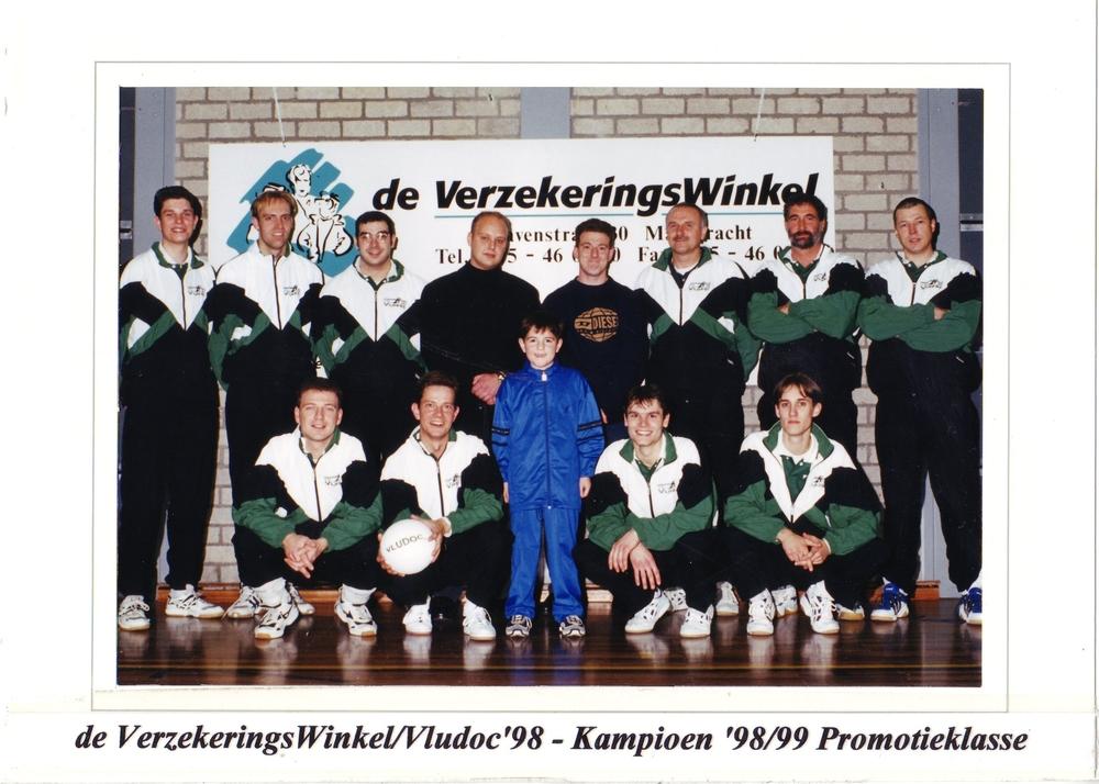 Heren 1 Vludoc '98 Seizoen 1998/1999