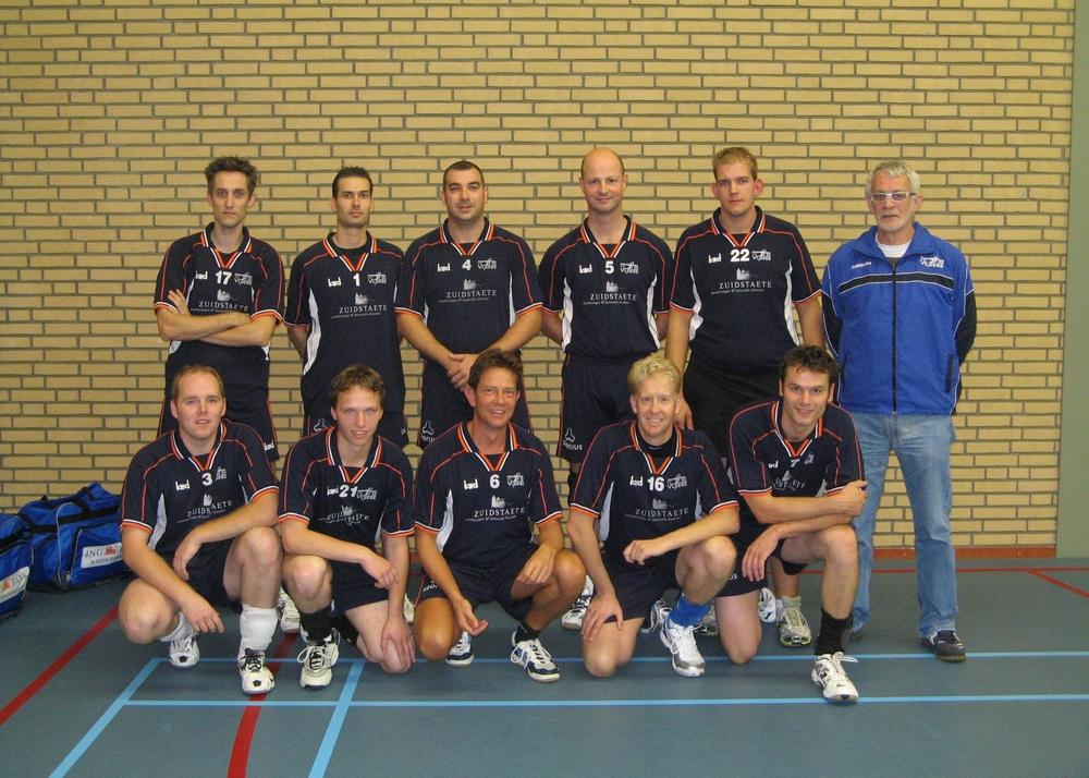 Heren 1 Vludoc '98 Seizoen 2009/2010