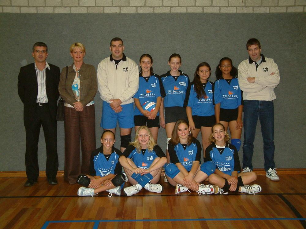 Meisjes C Vludoc '98 Seizoen 2004/2005