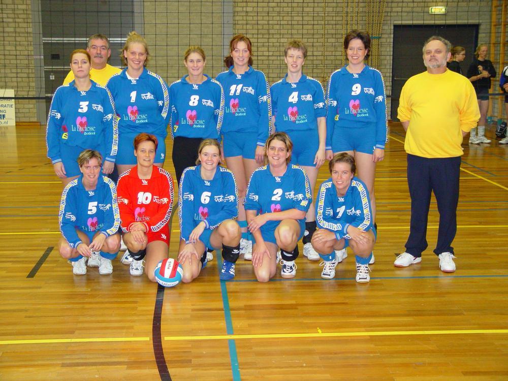 Dames 1 Vludoc '98 Seizoen 2002/2003