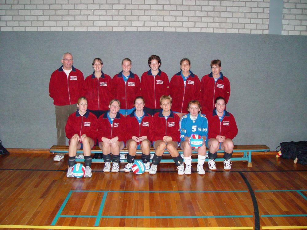 Dames 2 Vludoc '98 Seizoen 2002/2003