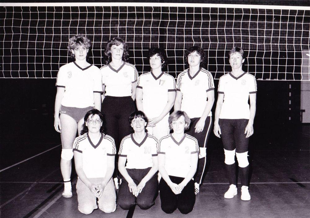 Dames 1 Luckraeck Seizoen 1983/1984