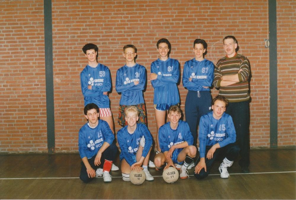 Heren 3 Vluco '86 Seizoen 1990/1991
