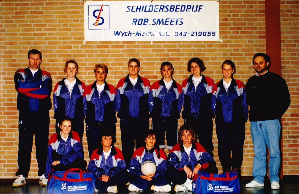 Dames 1 Dovoc '83 Seizoen 1992/1993