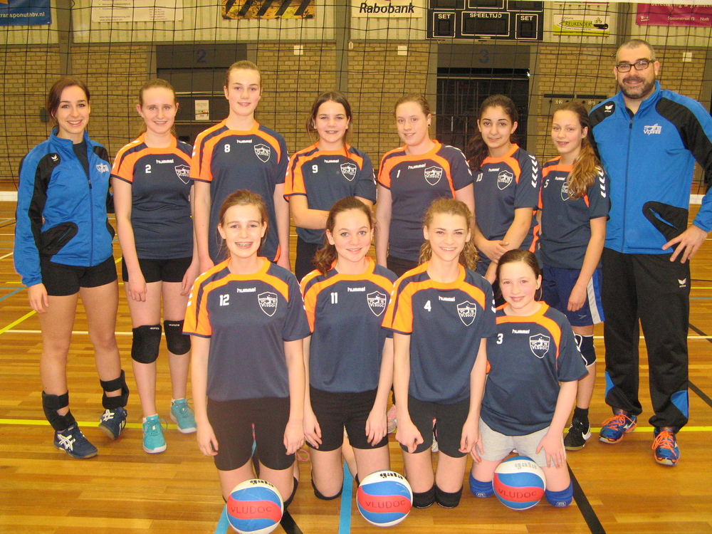 Meisjes C Vludoc '98 Seizoen 2015/2016