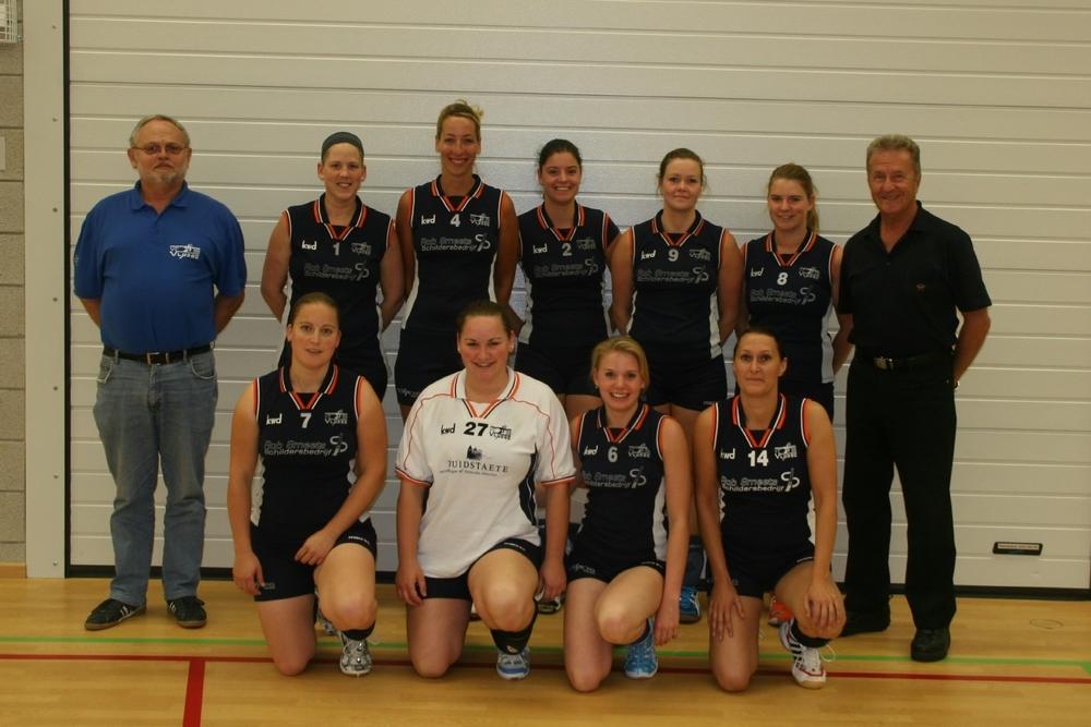 Dames 1 Seizoen 2011/2012