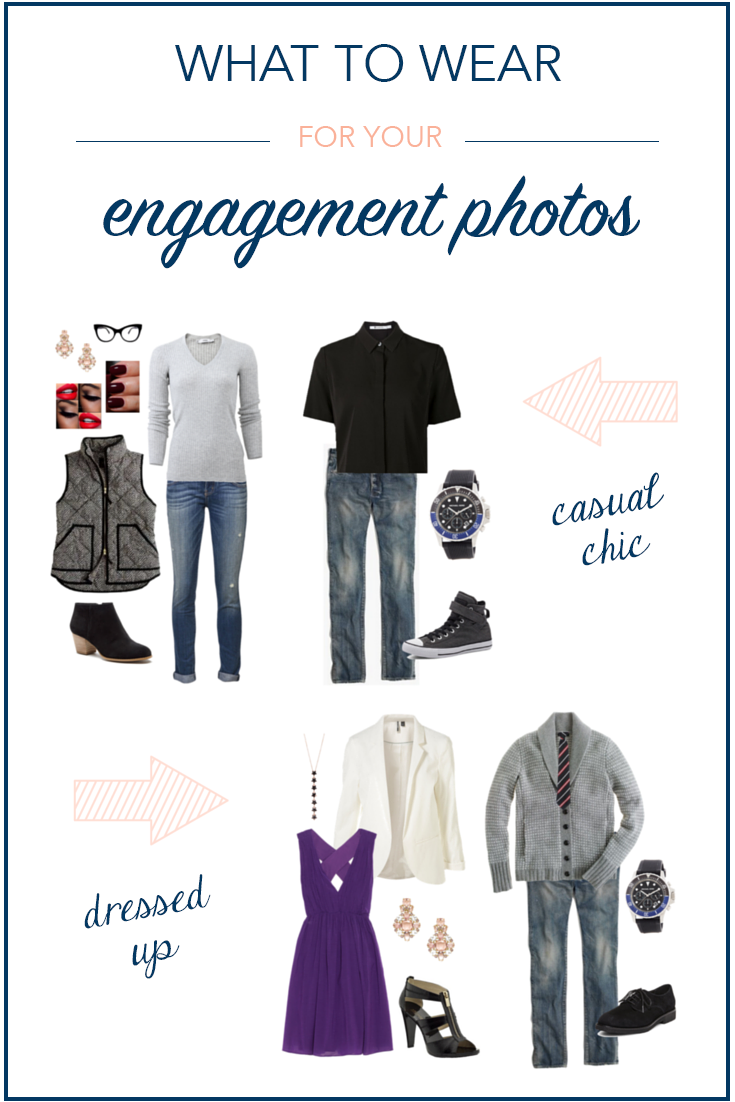 What to wear for your engagement photos - d. phillips photography -clarksville, tn