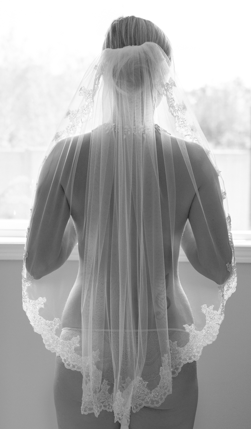 Fine art bridal boudoir photography // D. Phillips Photography