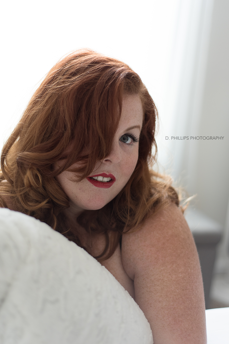 Retro boudoir photos | D. Phillips Photography, Clarksville TN