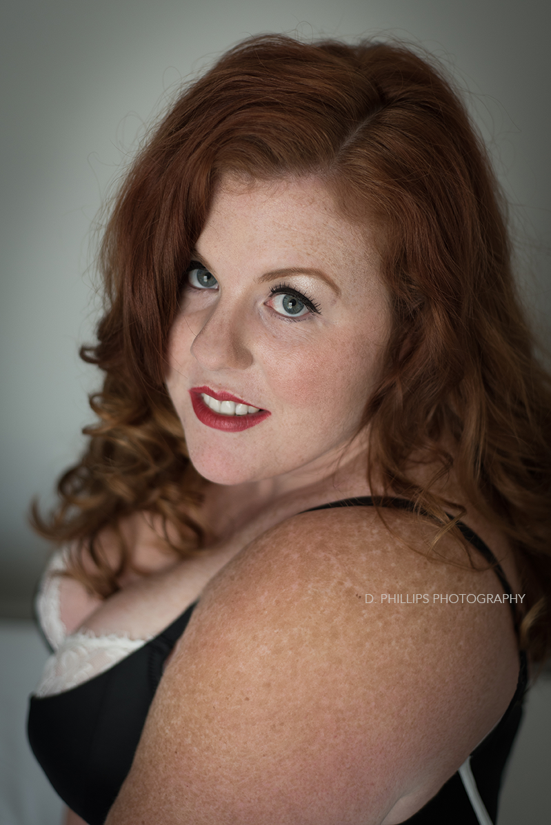 Retro boudoir photography inspiration | D. Phillips Photography, TN Boudoir Studio