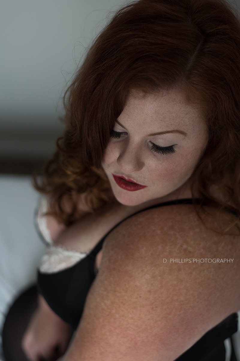 Retro boudoir photo inspiration | D. Phillips Photography, TN Boudoir Studio